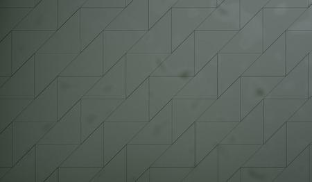 tiled wall: Green Muddy Tiled Wall Stock Photo