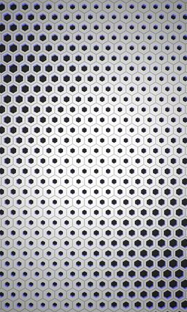 perforated: White Glowing Background