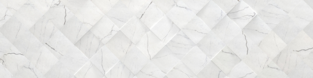 White Wide Marble Background (3d illustration)