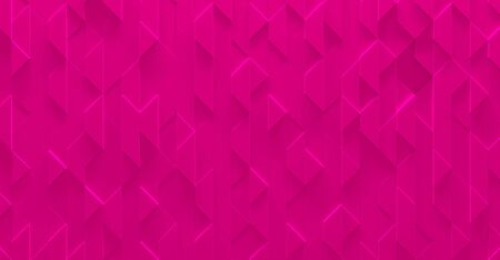 Bright Pink Glowing Girly Background (3D Illustration) Stock Photo