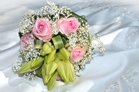 bruidsboeket: Bruidsboeket Stockfoto