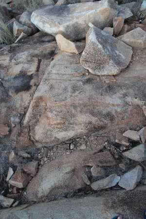 jagged: Jagged rocks