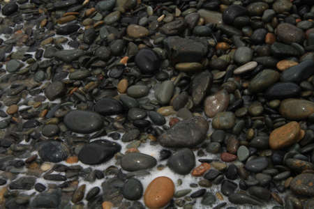 Wet rocks photo