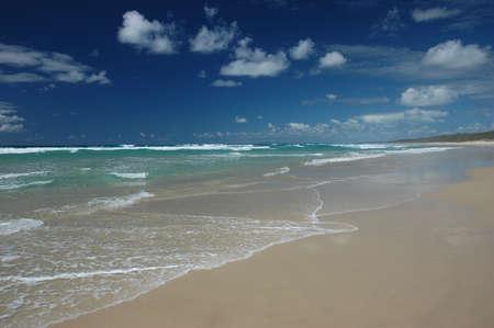 Gorgeous beach front photo