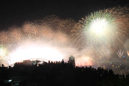 Sensational fireworks Stock Photo - 11592240