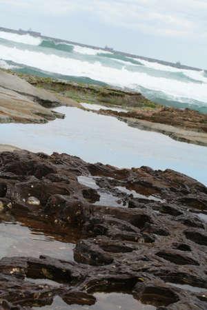 rock pools photo