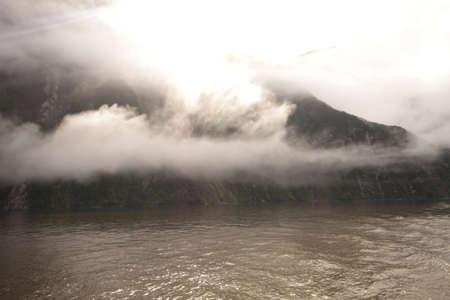 neroyfjord: Divine mountains Stock Photo