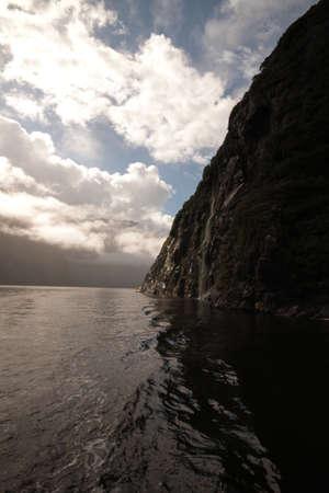 neroyfjord: Cliff leading to ocean