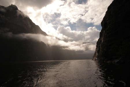 neroyfjord: Dark gloomy valley Stock Photo