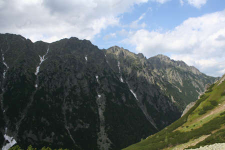 Tatra mountains in south poland photo
