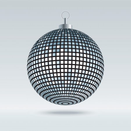 Mirror Disco Ball Vector Illustration