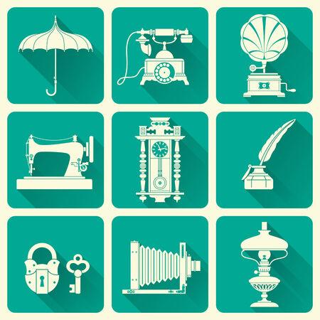ephemera: Ephemera e oggetti di vecchie icone Era Vintage
