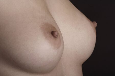 Perfect breast of a beautiful young woman Stock Photo - 265746