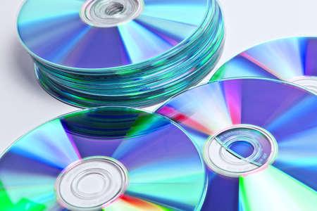 gigabytes: CD stack, data collection