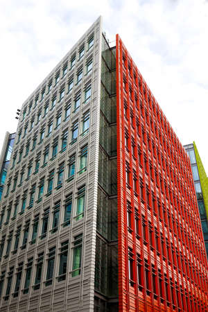 giles: Office blocks Central St  Giles, London, England Stock Photo