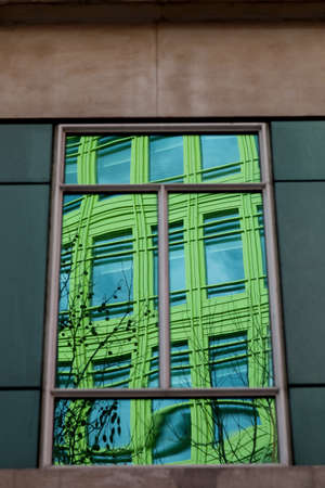 giles: Reflections of Central St  Giles Offices in London, England