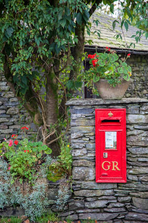 Old Georgian Village Post Box Stock Photo - 24865401
