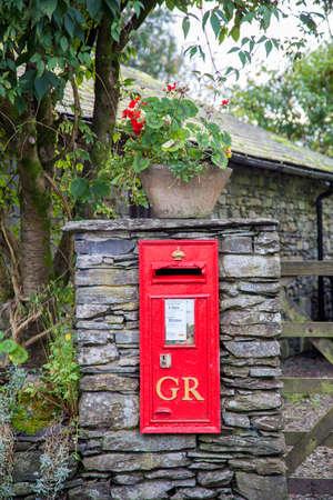 v lake: Old Georgian Village Post Box