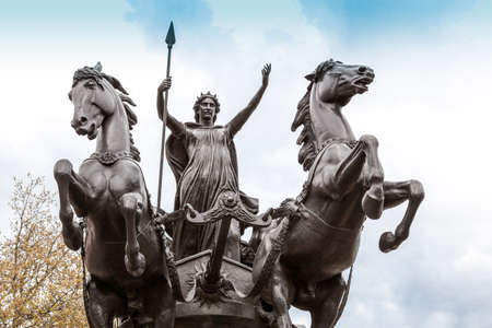 Statue of Boudica, London, England Stock Photo - 24866026