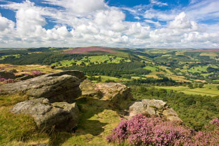 Peak District, Derbyshire, Angleterre Banque d'images - 24921840