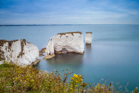 harry: Old Harry Rocks, Dorset, England Stock Photo