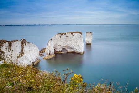 dorset: Old Harry Rocks, Dorset, England Stock Photo