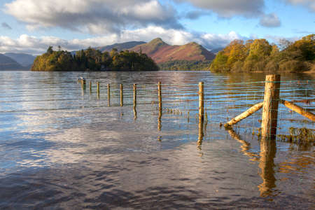 Derwent Water, Keswick, Cumbria, England Stock Photo - 24921950
