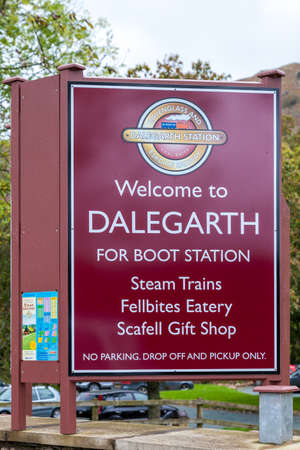 Sign at Dalegarth Village Station