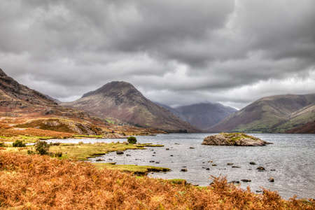 Wastwater, Wasdale, Keswick, Cumbria, Angleterre Banque d'images - 24921990