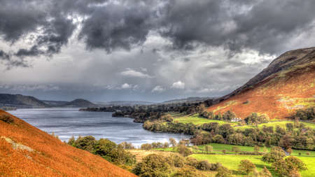 cumbria: Ulswater Head, Lake District, Cumbria, England