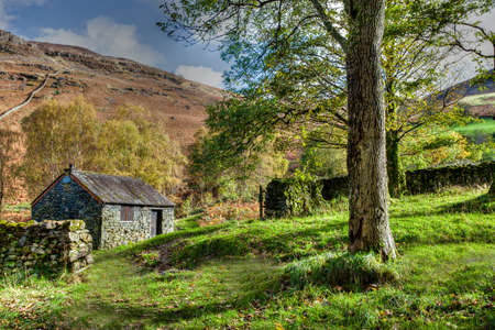 Mountain Hut, Ashness Bridge, Cumbria, England Stock Photo - 24925070