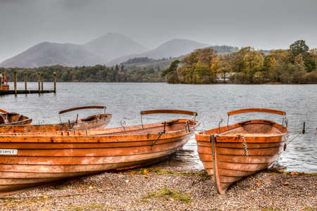Derwent Water, Keswick, Cumbria, England photo