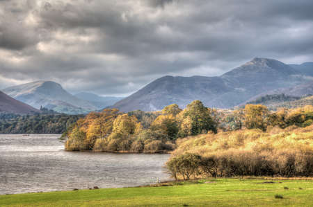 Derwent Water, Keswick, Cumbria, England Stock Photo - 24925132