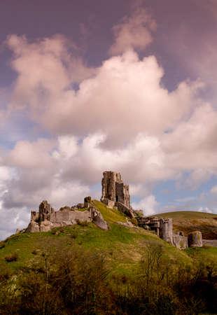 dorset: Corfe Castle, Dorset, England