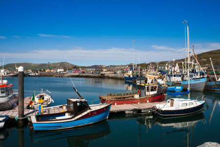 Dingle Harbour, County Kerry, Ireland Editorial