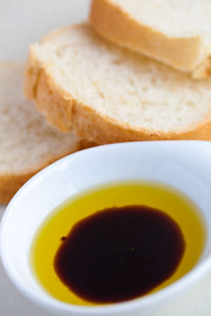 balsamic: Balsamic and Oil Dip Stock Photo