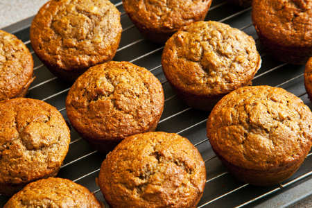 Freshly Baked Bran Muffins photo