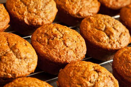 Freshly Baked Bran Muffins photo