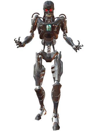 Cyborg 3000-Menace Stock Photo - 894295
