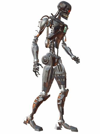 Cyborg 3000-Walk Stock Photo - 894298