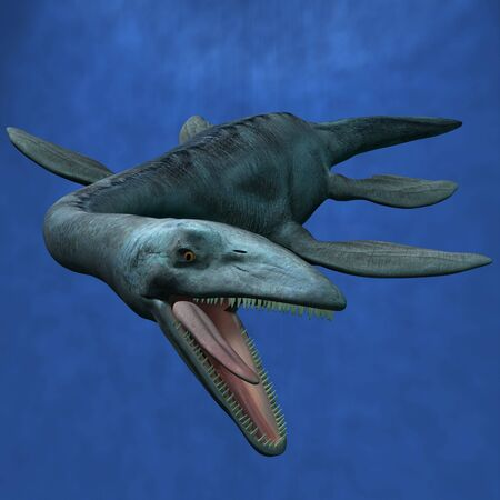 Elasmosaurus Stock Photo
