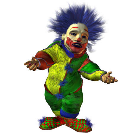 eddy: Eddy the Clown Stock Photo