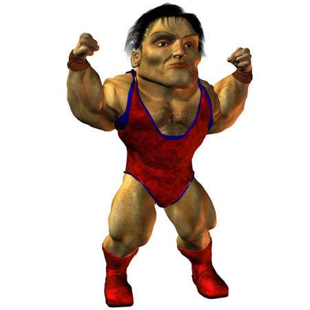 man full body: Arni the Muscleman