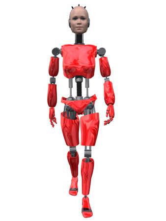 cyber girl: Robot Woman