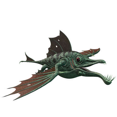 dragon fish: Fantasy Dragon Fish