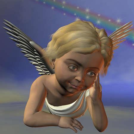 cherub: Cherub Stock Photo