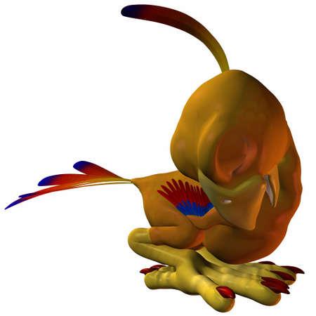hatchling: Toonimal Hatchling Phoenix