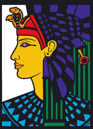 Illustration Vector of Egyptian Silouette Illusztráció