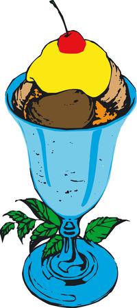 그림 아이스크림 - 벡터 스톡 콘텐츠 - 2496027