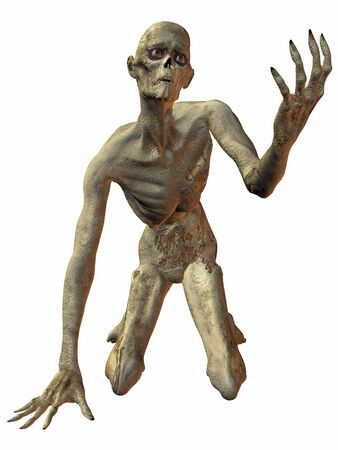 creeps: 3 D Render of an Zombie